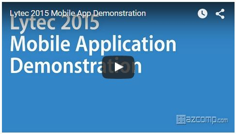 lytec 2015 mobile app demo
