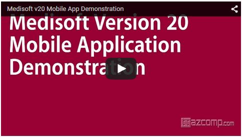 medisoft v20 mobile app demonstration