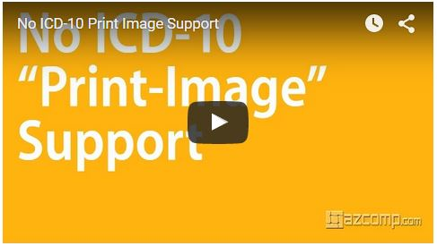 video play - no print image support