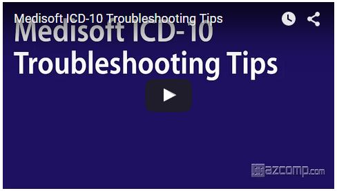 icd-10 troubleshooting tips for medisoft