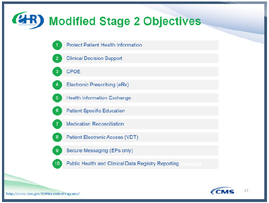 Modified Stage 2 Objectives_Mckesson MU Guide 2015