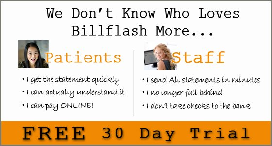 BillFlash 30 day free trial
