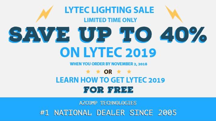 Lytec 2019 Lightning Sale