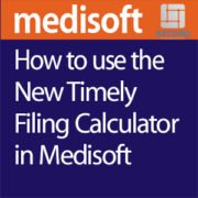 Medisoft timely filing calculator