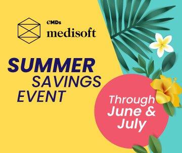 Medisoft 2021 summer sales event