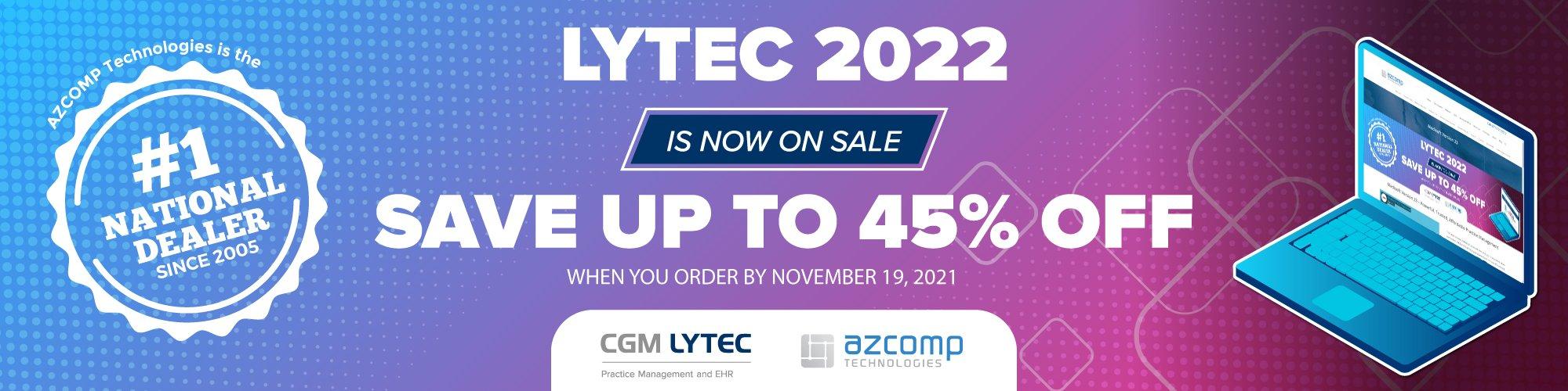 Lytec 2022 sale