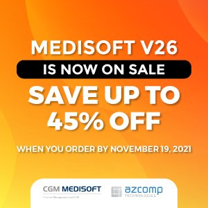 Medisoft v26 is on sale